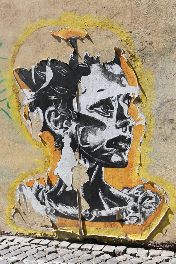 街道艺术-罗马 免版税图库摄影
