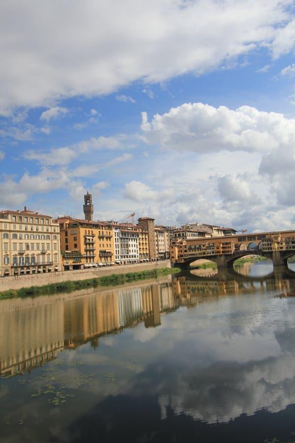 街道视图在佛罗伦萨,意大利 库存图片