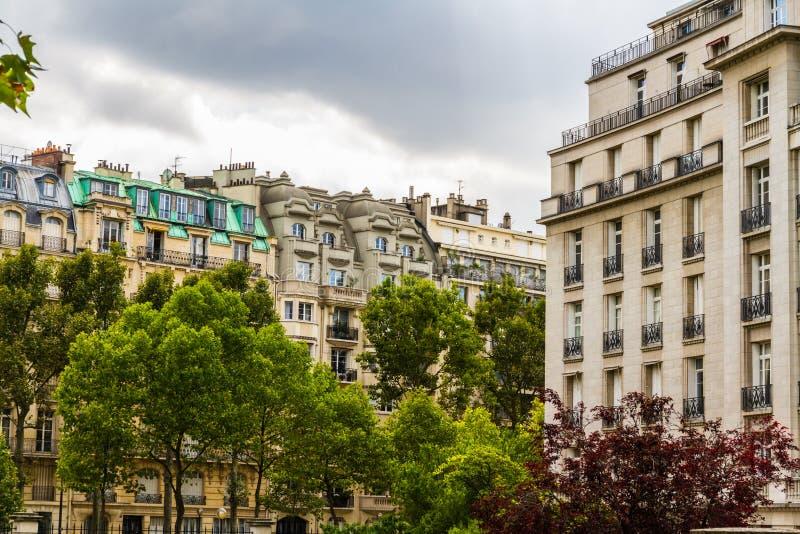 街道视图,巴黎 免版税图库摄影
