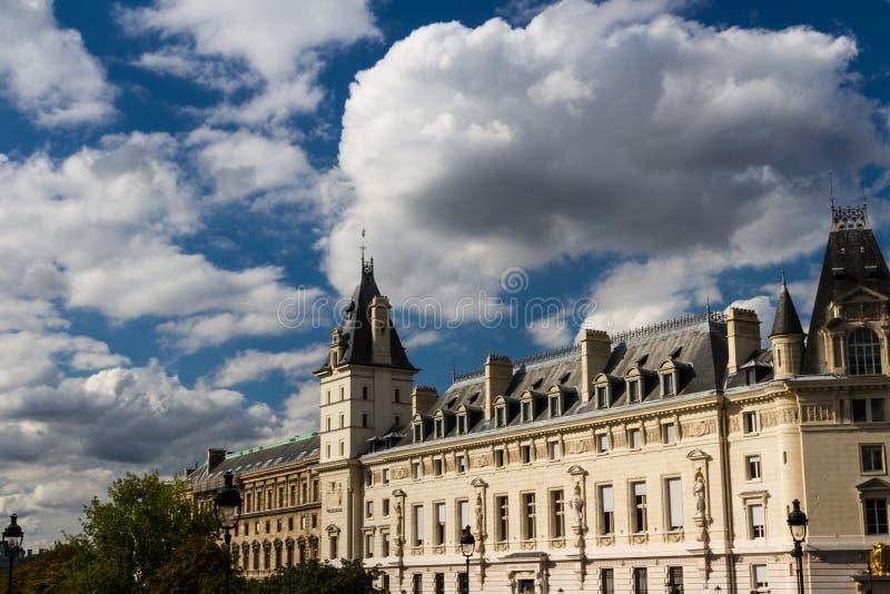 街道视图,巴黎 库存图片