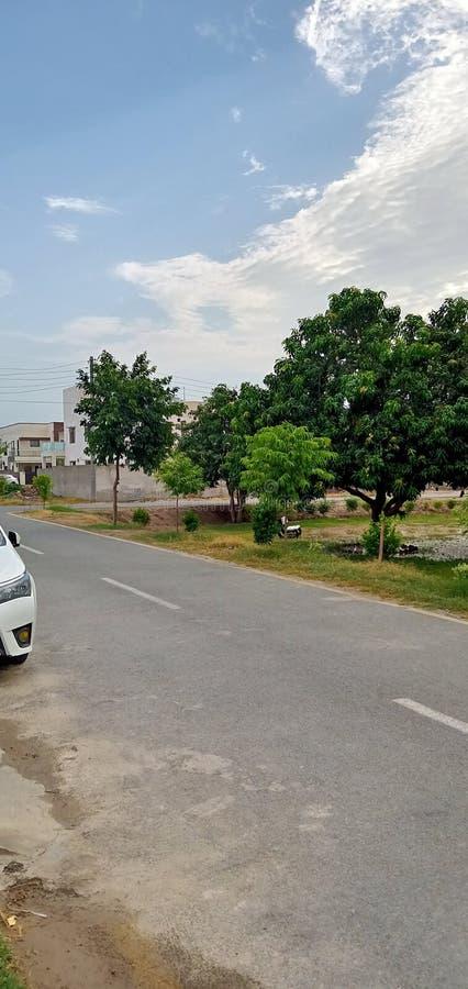 街道视图 图库摄影