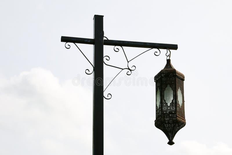 街道路灯柱 库存照片