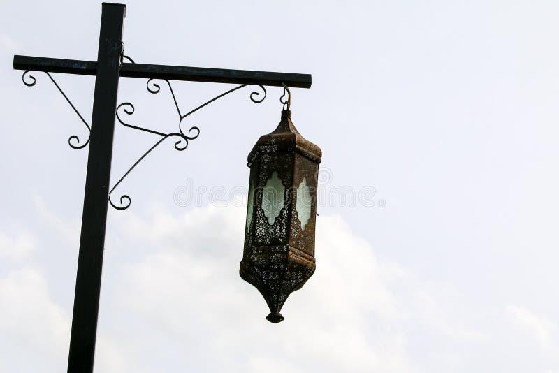 街道路灯柱 图库摄影