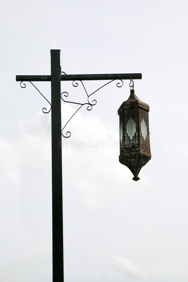 街道路灯柱 库存图片