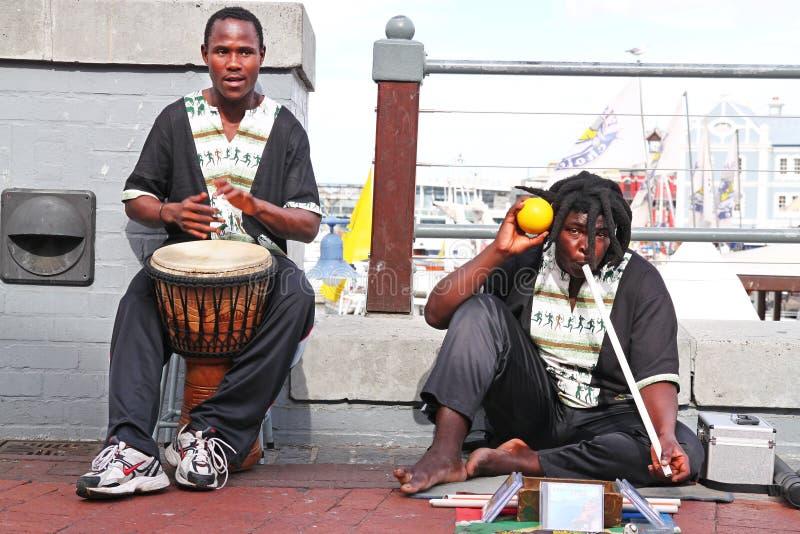 街道音乐家 库存照片