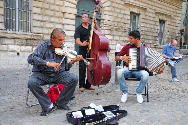 街道音乐 库存图片