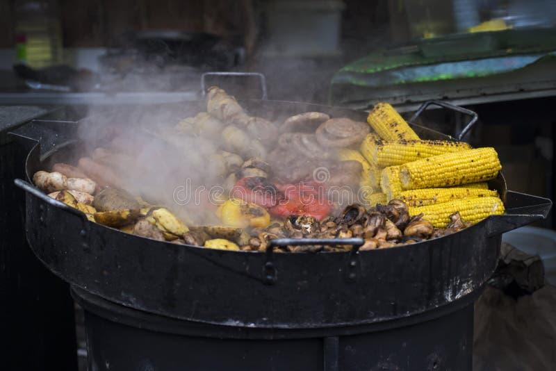 街道食物节日 库存图片