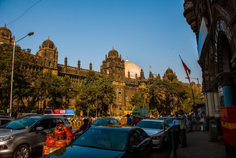 街道 印度mumbai 图库摄影