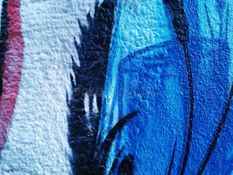 街道画纹理 库存照片