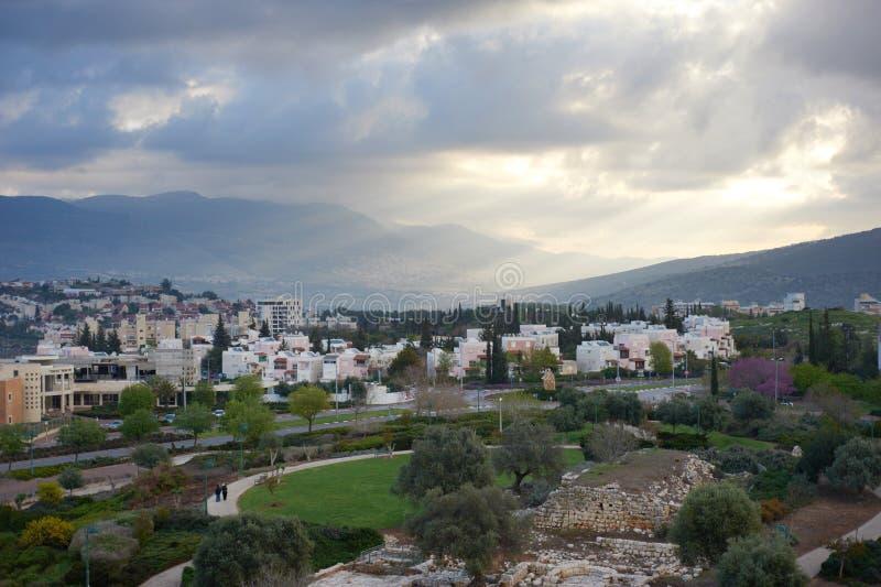 街道以色列 免版税库存图片