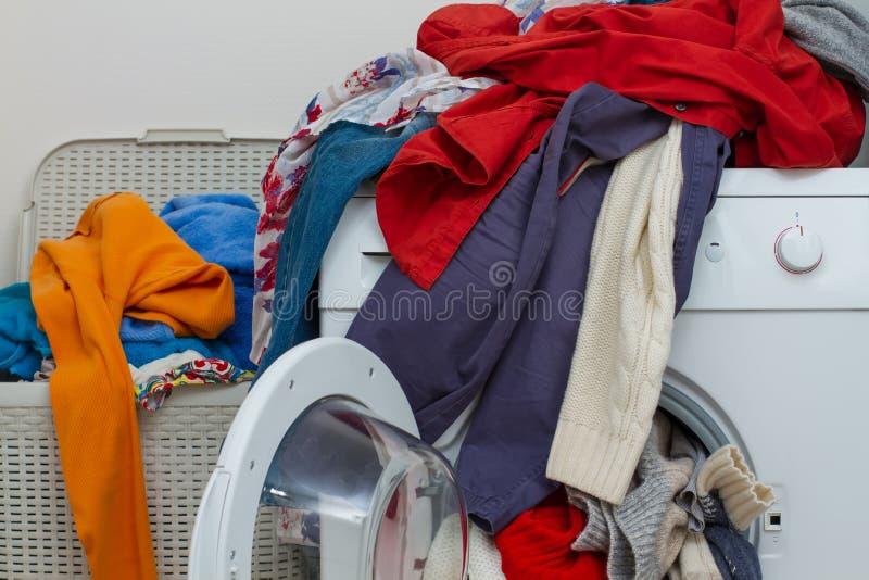 洗衣店 库存照片
