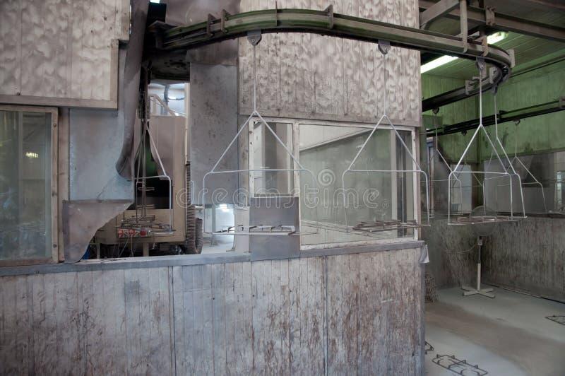 衣料工厂 库存图片