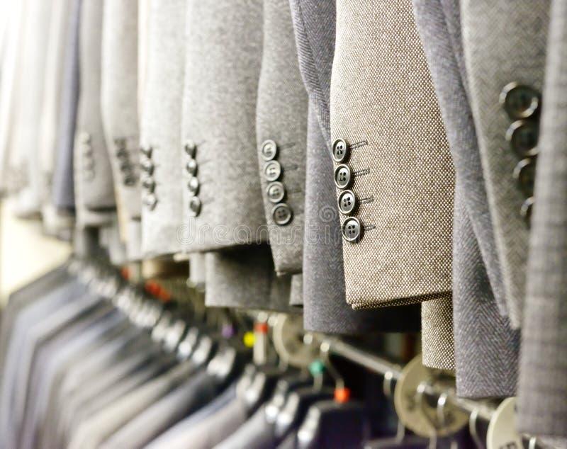 衣服在商店 库存照片
