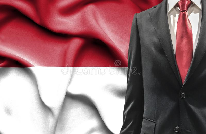 衣服的人从印度尼西亚 免版税库存图片