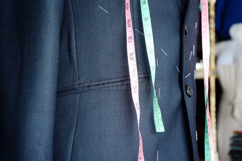 衣服裁缝 库存照片