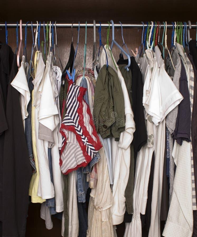衣橱 免版税库存图片