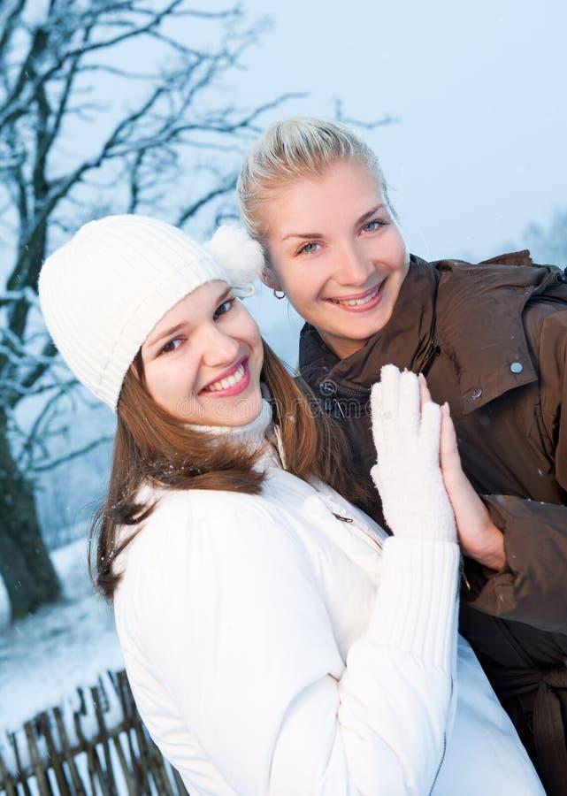 衣物冬天妇女 免版税库存照片