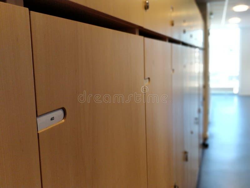 衣物柜行2 免版税库存照片