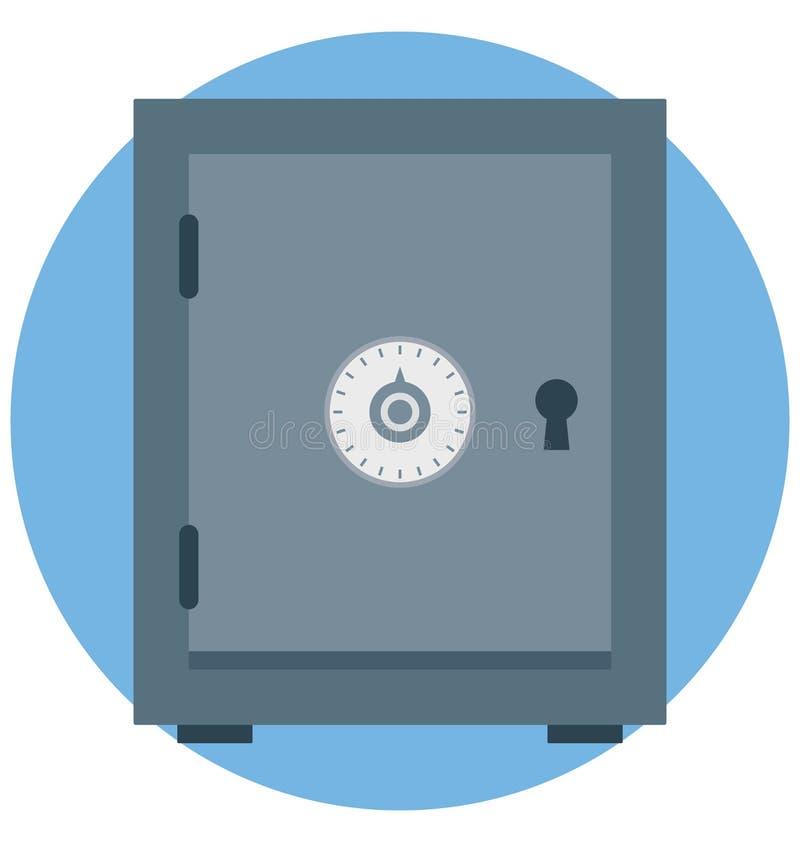 衣物柜颜色隔绝了可以容易地修改和编辑的传染媒介象 库存例证