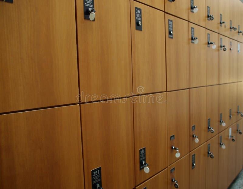 衣物柜 免版税库存图片