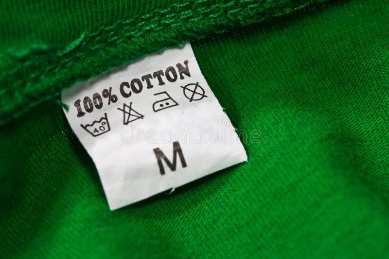 衣物标签 免版税库存图片