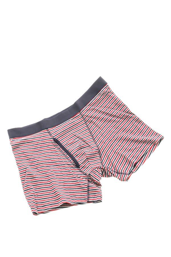 衣物的人内衣 免版税库存图片