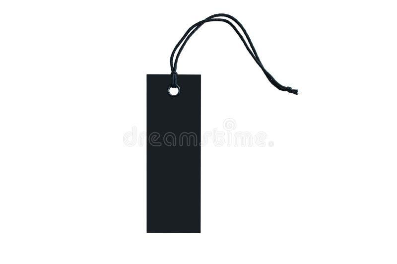 衣裳的黑标记有在鞋带的一个圆环的 r E 免版税库存图片