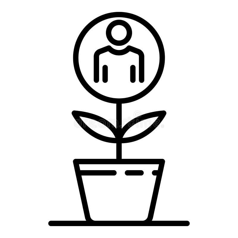 补充人植物象,概述样式 皇族释放例证