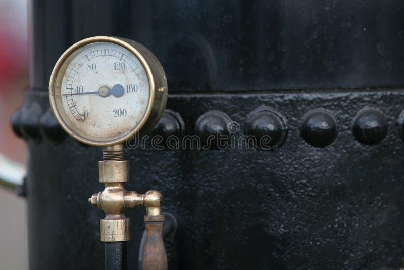 表压蒸汽 库存照片