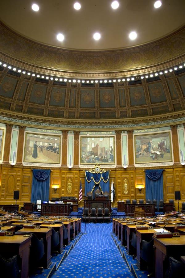 代表性会议室在许多状态议院里 库存照片