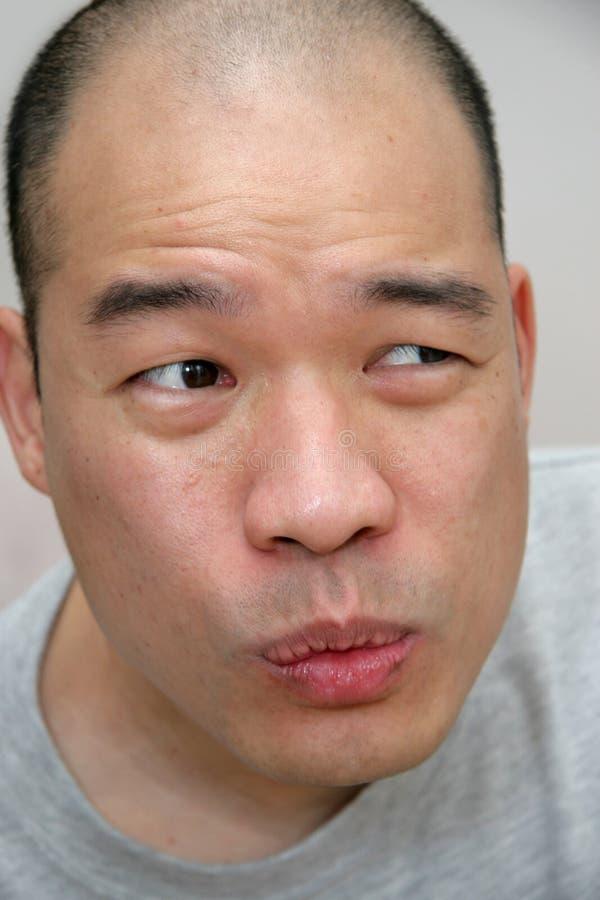 表达式脸面护理 免版税库存照片
