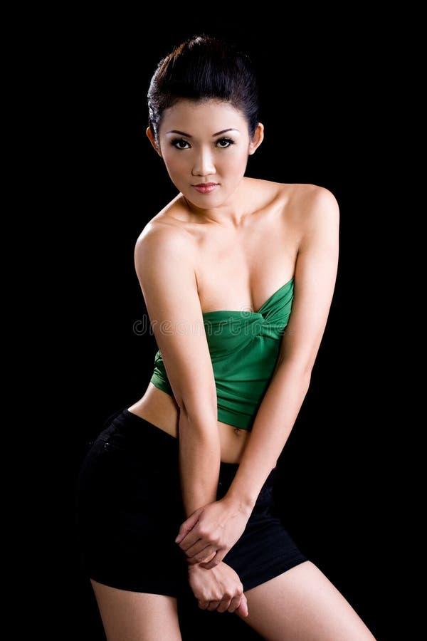 表达式表面妇女年轻人 库存图片
