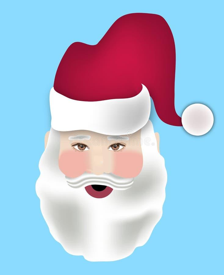 表面圣诞老人 皇族释放例证