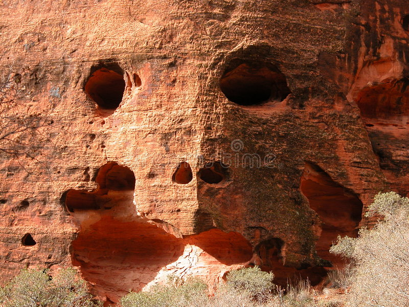 表面岩石 免版税库存图片