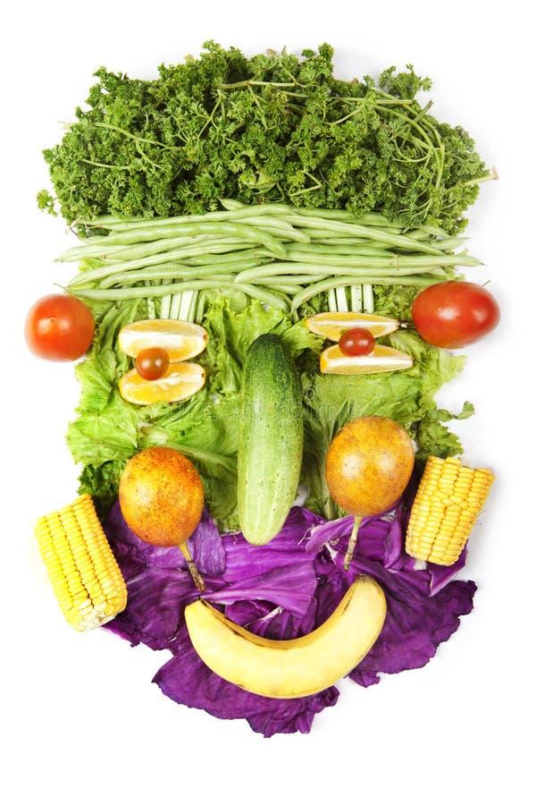 表面果子做蔬菜 图库摄影