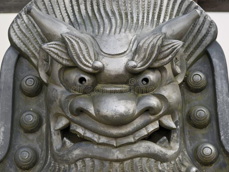 表面铁雕象 免版税库存图片