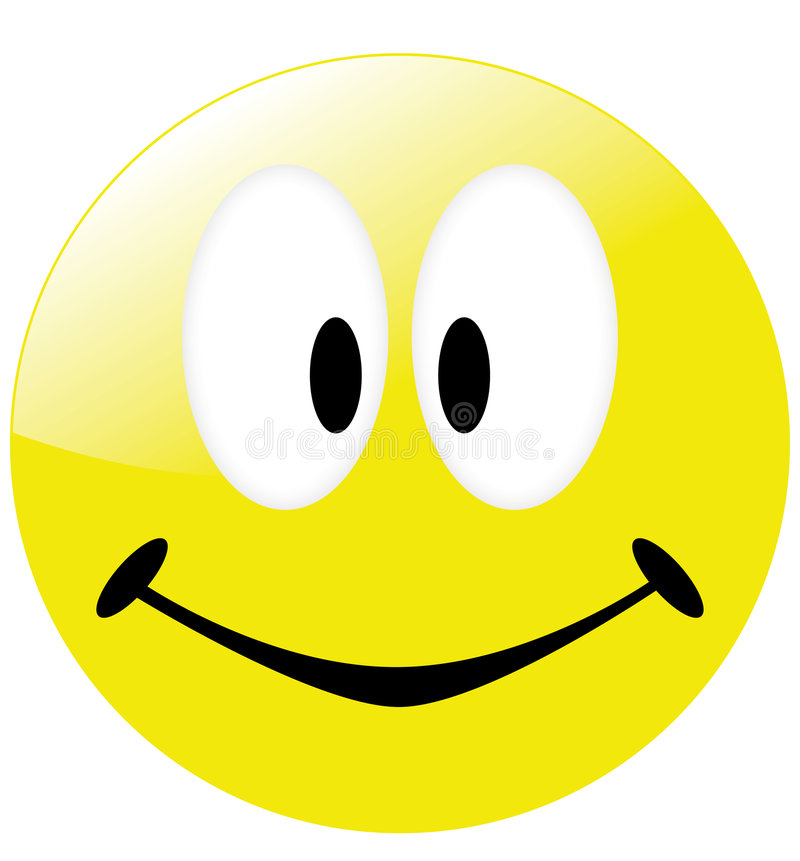 表面面带笑容 免版税库存图片