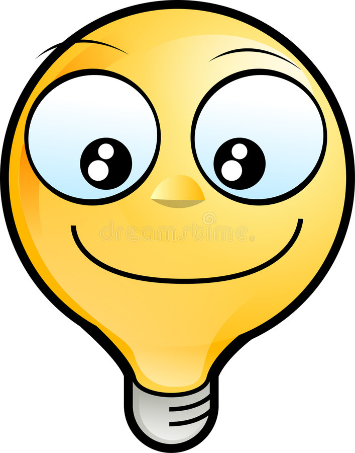表面面带笑容 向量例证