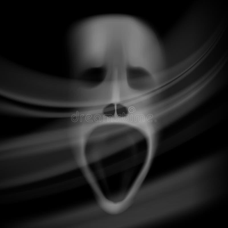 表面鬼魂 库存例证