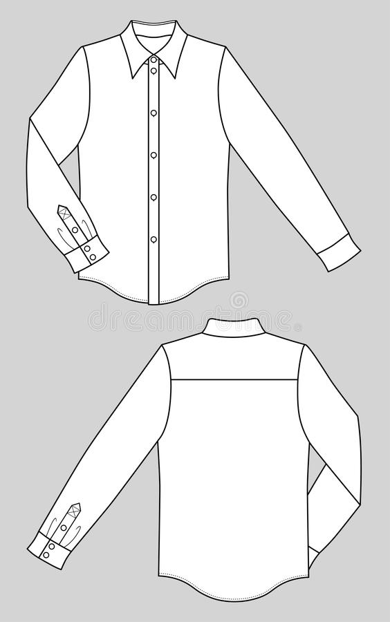 衬衣 库存例证