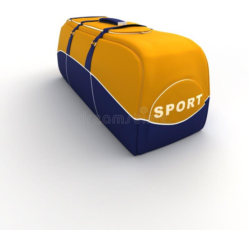 袋子体育运动 向量例证