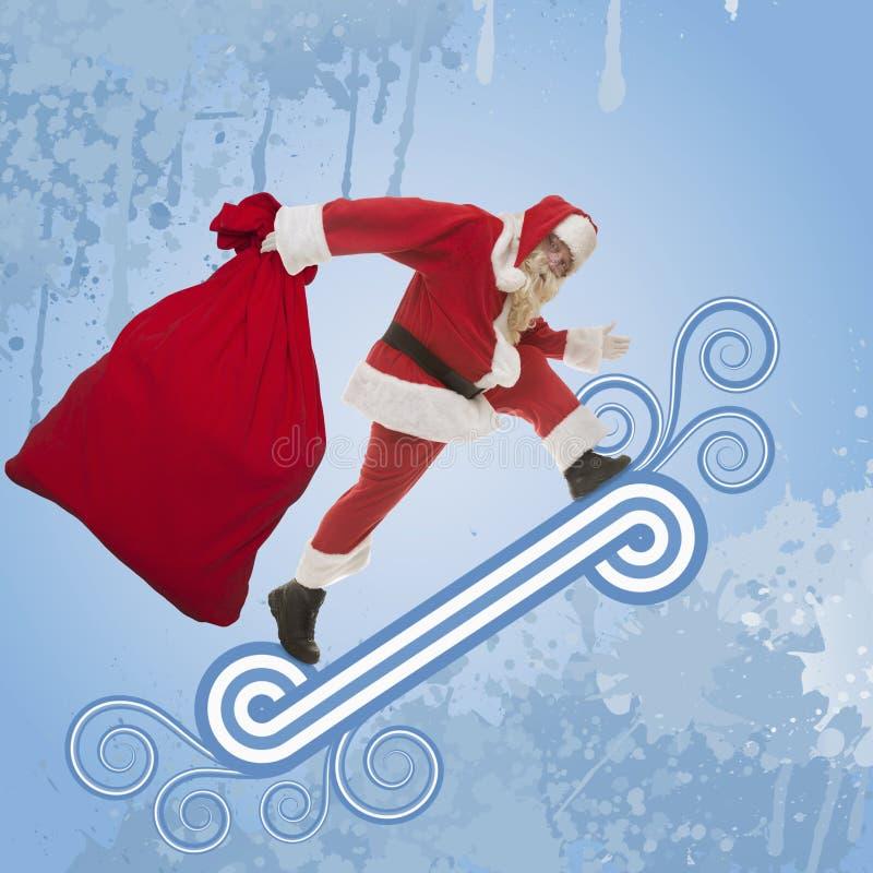 Download 袋子克劳斯礼品圣诞老人 库存例证. 插画 包括有 运行, 帽子, 愉快, beaufort, 逗人喜爱, 礼品 - 62534742