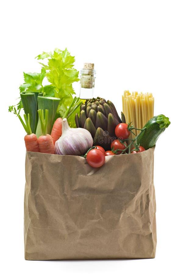 袋子副食品 库存图片