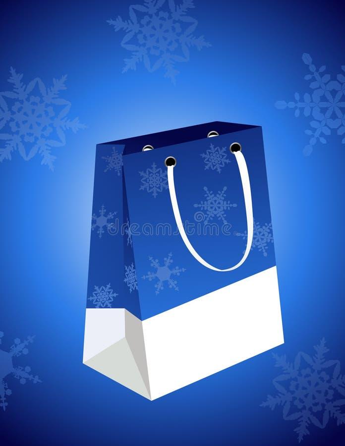 袋子圣诞节 皇族释放例证