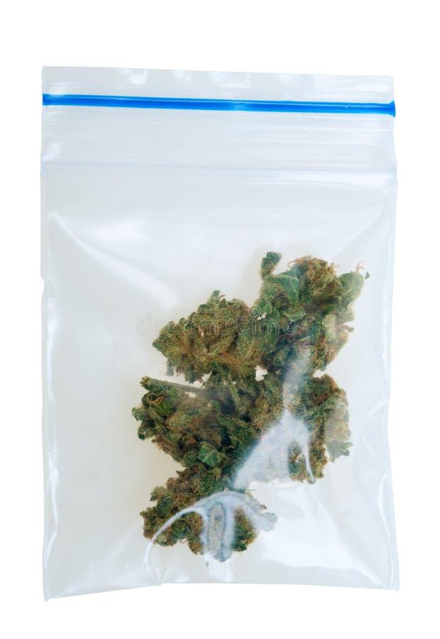 袋子大麻编结塑料 免版税库存照片