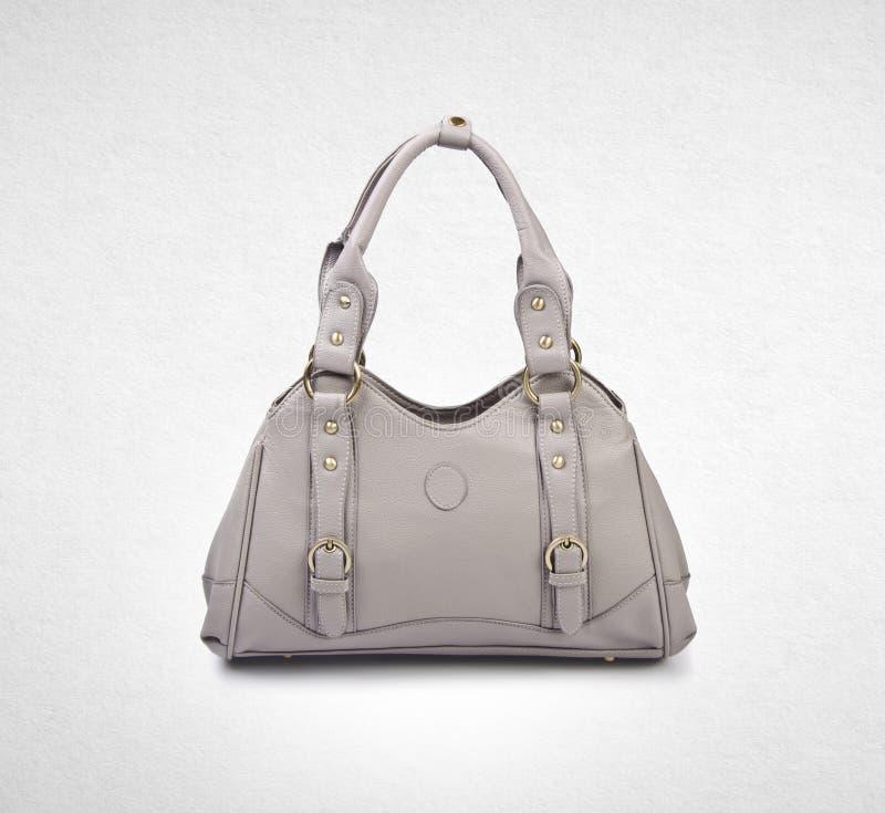 袋子或妇女袋子在背景 免版税库存图片