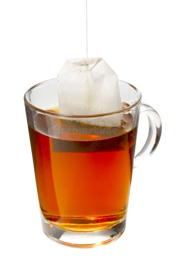 袋子杯子茶 免版税图库摄影
