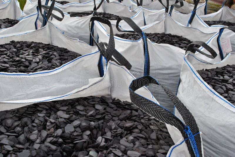 袋子板岩 免版税图库摄影