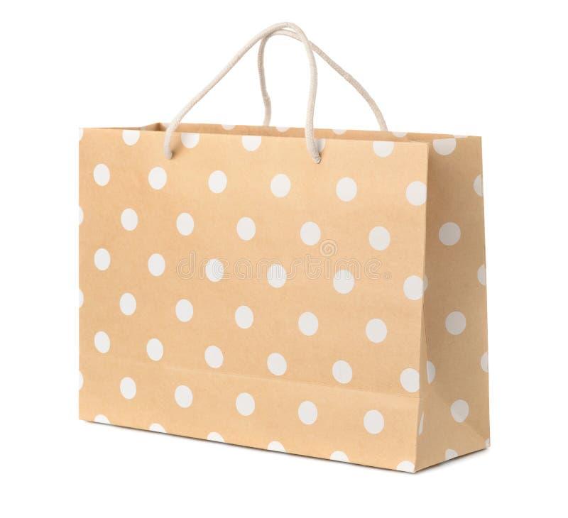 袋子查出的oncept纸张销售额购物白色 库存照片
