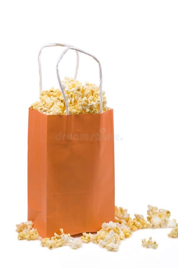袋子玉米花 库存图片